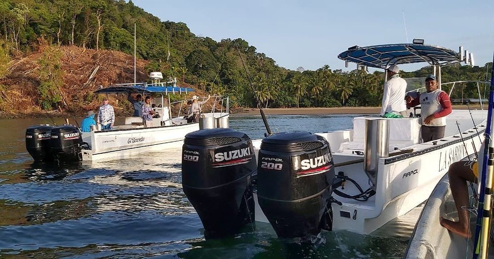 Nieuwe boten in Colombia en Djibouti