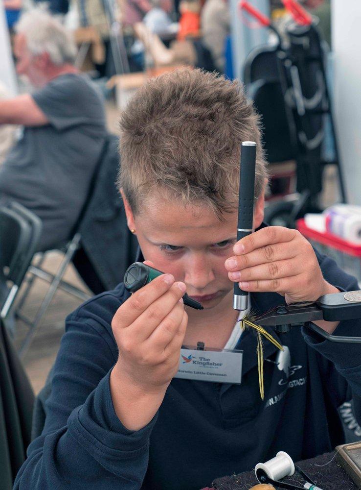 Ook voor kinderen zijn speciale workshops georganiseerd. (foto: Hans Spruijt)