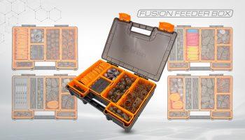 De Fusion Feeder Box van Guru is speciaal ontwikkeld voor het opbergen van allerlei accessoires.
