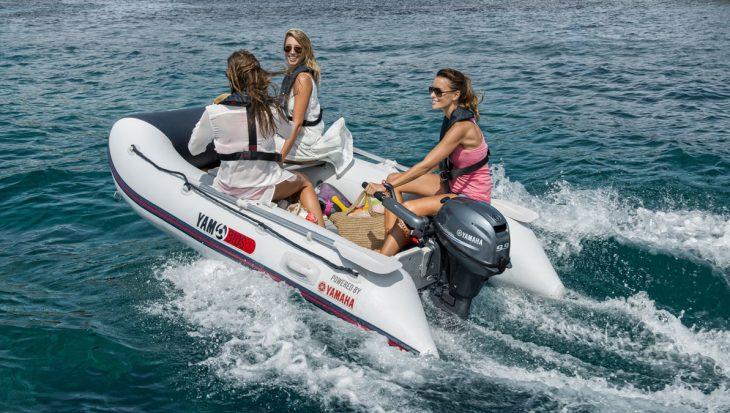 Zoek je zomerstek: YAM dé rubberboot van Yamaha!