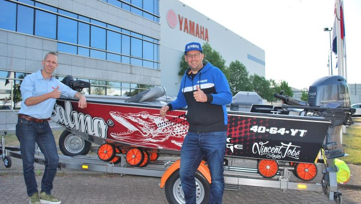 Vincent Tobé treedt toe tot Yamaha Pro Fishing