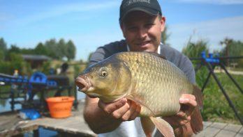 Hoe vis je op een commercial visvijver?