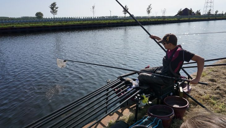 TopTeamcompetitie Dobbervissen van start: schrale dag 1