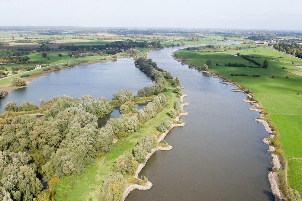 Witvissen in de herfst Gelderse IJssel