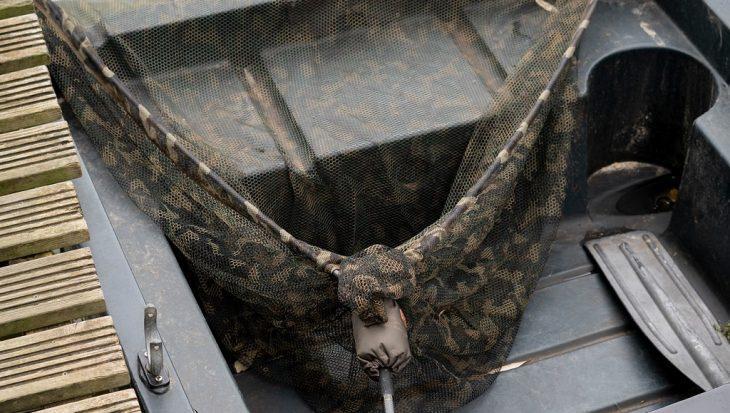 Opvallende Safeguard camouflage landingsnetten