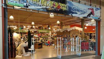 Kampeerwinkel Frans de Witte opnieuw flink uitgebreid