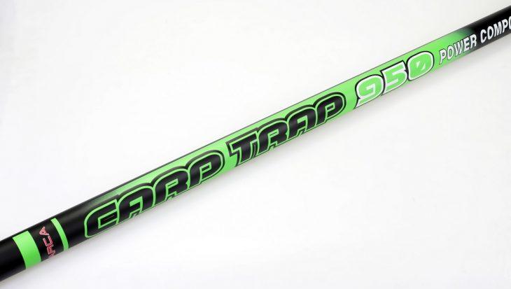 Carp Trap Put-Over hengel met fighting set