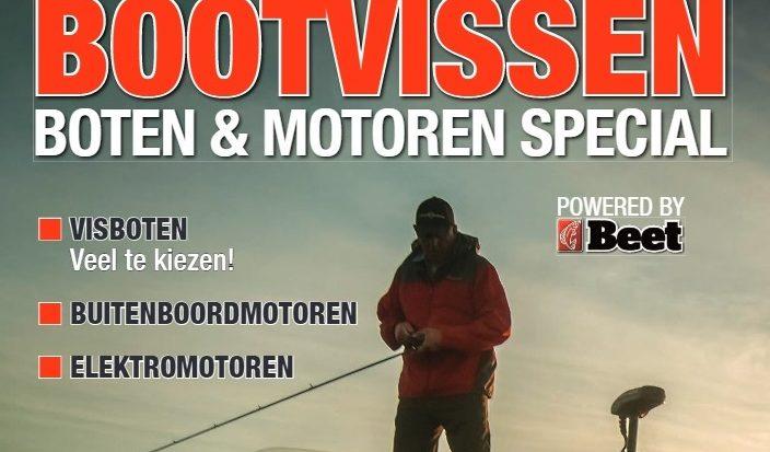Gratis Boten&Motoren 'special' voor varende sportvissers