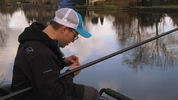 Zinkvissen op de stromende Oude Rijn