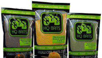 Methodvissen nu ook mogelijk met aas & voer CBB Baits