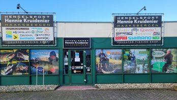 Winkel Hengelsport Kruidenier fors verbouwd en uitgebreid