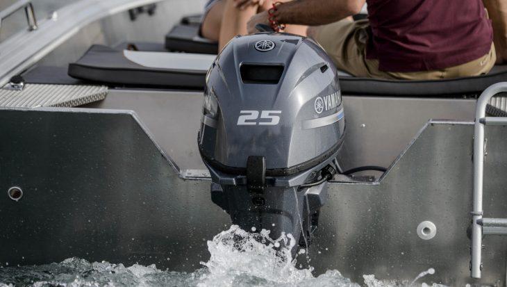 Yamaha F25 motor nog lichter en gebruiksvriendelijker