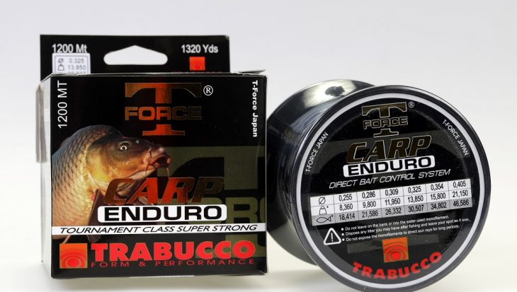 Carp Enduro: schuurbestendig & zinkend nylon