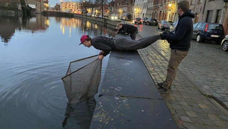 Urban fishing: de sleutel naar de stad Brugge