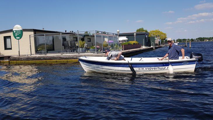 VVP Verhuur/Visserslust: witvissen in Vinkeveen