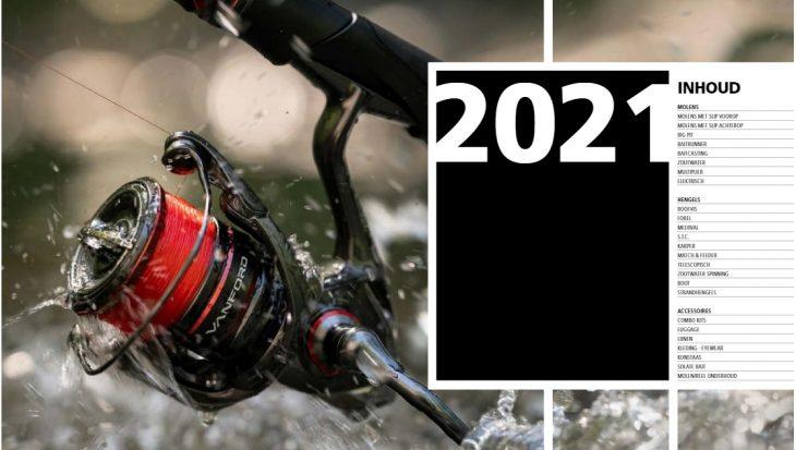 Update Nederlandse 2021 catalogus Shimano online