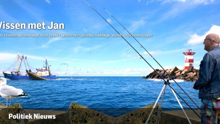 'Vissen met Jan': op het havenhoofd met Pieter Omtzigt