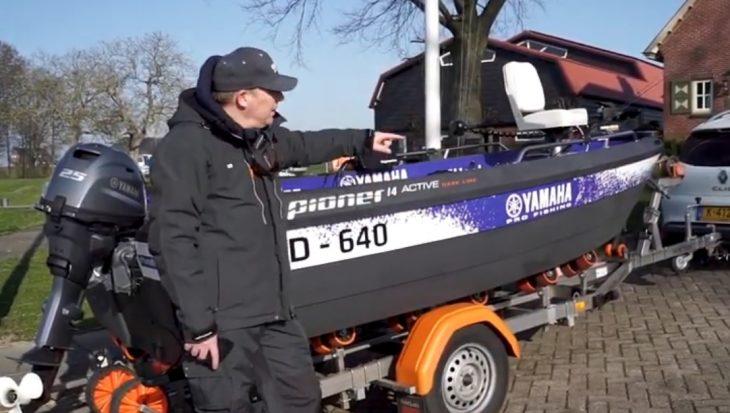 Pioner 14 Active 'Dark Line': visboot met unieke eigenschappen
