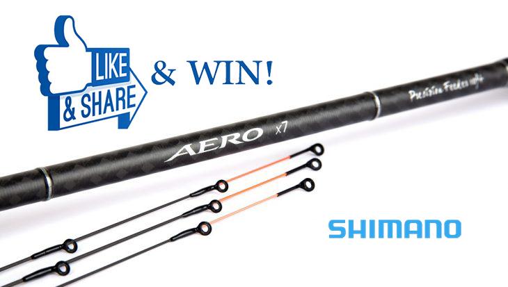 Like, Share & Win een Shimano Aero X7 Precision Feeder!