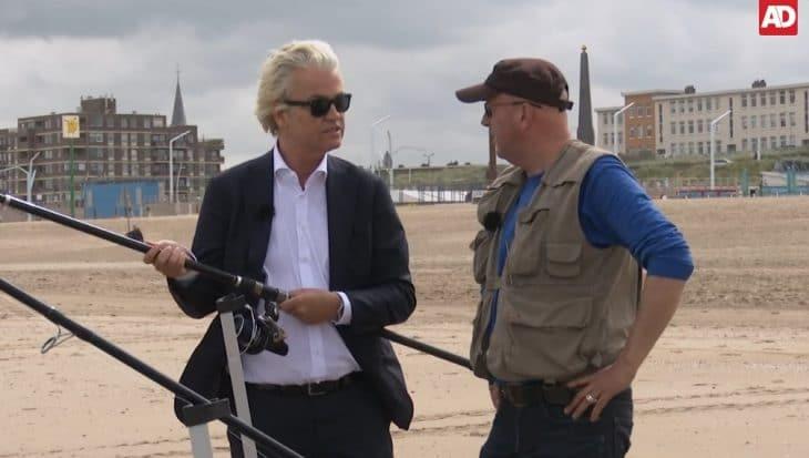 Zesde seizoen 'Vissen met Jan' trapt af met Geert Wilders