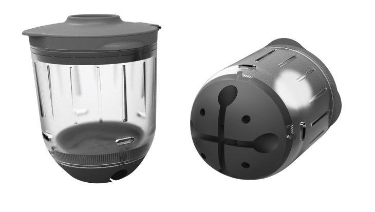 Drie lichtgewicht modellen Grip-Flex Whopper Pots