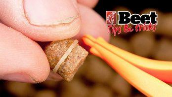Tips & tricks: pellets bevestigen op de baitband