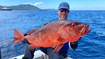 Achter de monster cubera's in visparadijs Panama